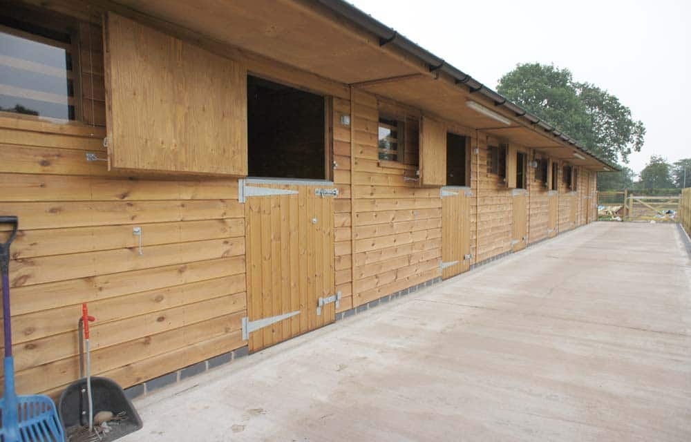 Stable blocks